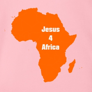 jesus for Africa - Organic Short-sleeved Baby Bodysuit