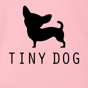 Tiny Dog - Økologisk kortermet baby-body