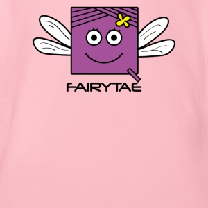 Fairy 'FAIRYTAE' Princess | Qbik design series - Organic Short-sleeved Baby Bodysuit