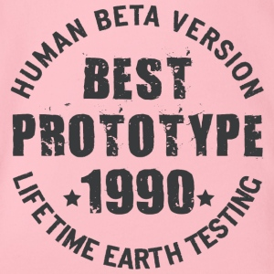 1990 - The birth year of legendary prototypes - Organic Short-sleeved Baby Bodysuit