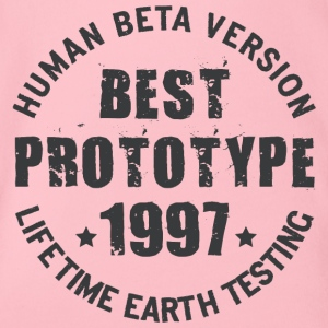 1997 - The birth year of legendary prototypes - Organic Short-sleeved Baby Bodysuit
