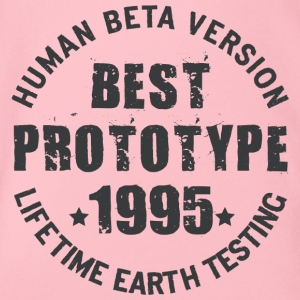 1995 - The birth year of legendary prototypes - Organic Short-sleeved Baby Bodysuit