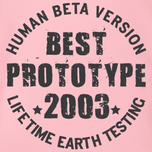2003 - The birth year of legendary prototypes - Organic Short-sleeved Baby Bodysuit