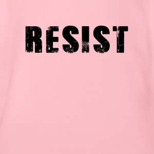 Resists hot resistance - Organic Short-sleeved Baby Bodysuit