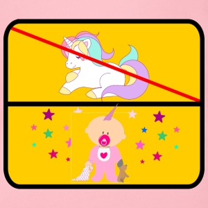 UNICORN BABY VS - Økologisk kortermet baby-body