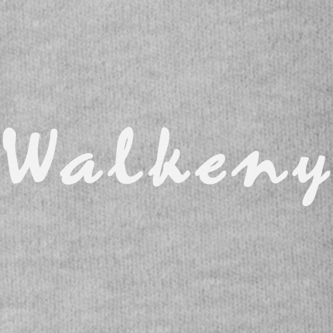 Walkeny Schriftzug in weiß!