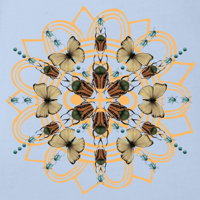 Collage di farfalle