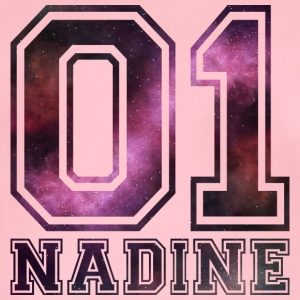 Nadine Name - Baby Bio-Kurzarm-Body