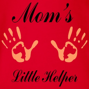 Little Helper Mom - Body bébé bio manches courtes
