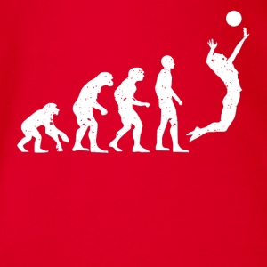 VOLLEY-BALL EVOLUTION! - Body bébé bio manches courtes