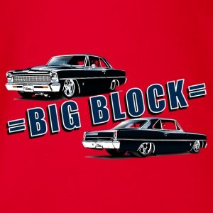 Big block Chevy II nova Super Sport - Body bébé bio manches courtes