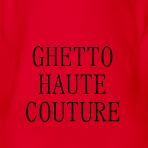 GHETTO HAUTE COUTURE - Baby Bio-Kurzarm-Body