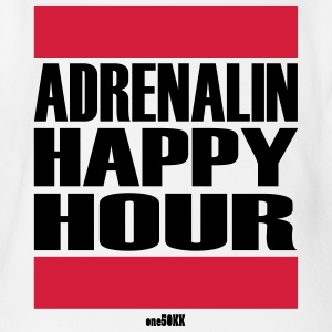 Adrenalin Happy Hour - Økologisk kortermet baby-body