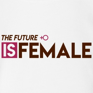 The Future is Female - Baby Bio-Kurzarm-Body