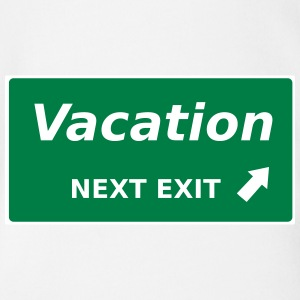 Vacation next Exit - Baby Bio-Kurzarm-Body