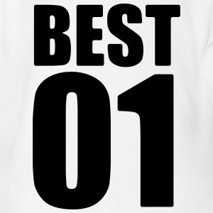 Best friend - best friends shirt - Bff shirt - Organic Short-sleeved Baby Bodysuit