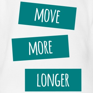move more longer - Baby Bio-Kurzarm-Body