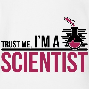 Trust Me I'm A Scientist - science - Organic Short-sleeved Baby Bodysuit