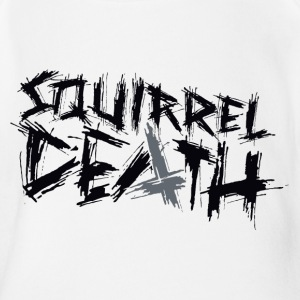 SQUIRREL DEATH - Logo positiv - Baby Bio-Kurzarm-Body