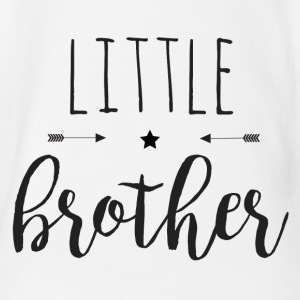 little Brother - Økologisk kortermet baby-body