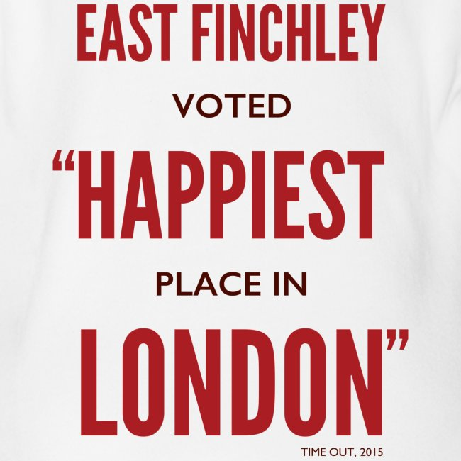 East Finchley Happiest Place in London