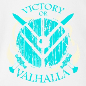 VICTORY OF VALHALLA - Organic Short-sleeved Baby Bodysuit