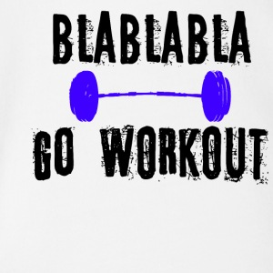 BLABLABLA GO WORKOUT - Baby Bio-Kurzarm-Body