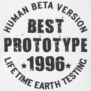 1996 - The birth year of legendary prototypes - Organic Short-sleeved Baby Bodysuit
