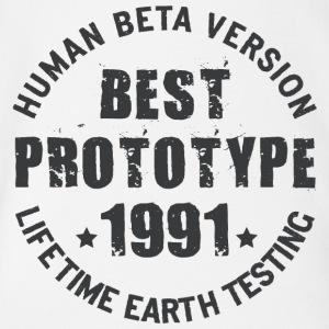 1991 - The birth year of legendary prototypes - Organic Short-sleeved Baby Bodysuit