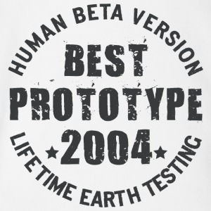 2004 - The birth year of legendary prototypes - Organic Short-sleeved Baby Bodysuit