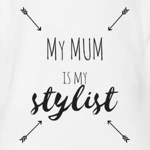 My mum is my stylist no.2 - Baby Bio-Kurzarm-Body