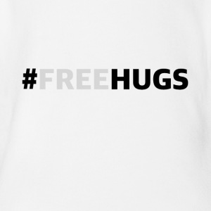 freehugs - Ekologisk kortärmad babybody