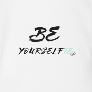 Be Yourself(ie) - Organic Short-sleeved Baby Bodysuit
