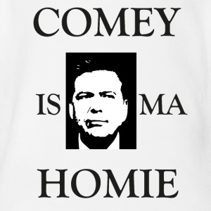 Comey Is Ma ... - Organic Short-sleeved Baby Bodysuit
