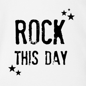 rock this day - Baby Bio-Kurzarm-Body