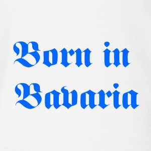 Born in Bavaria - Organic Short-sleeved Baby Bodysuit
