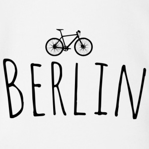 Bicycle Berlin - Organic Short-sleeved Baby Bodysuit