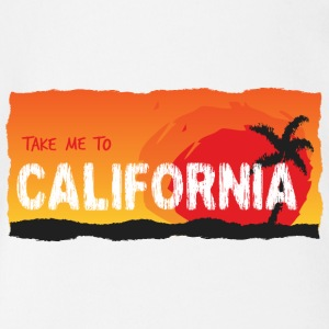 Take Me To California - Baby bio-rompertje met korte mouwen