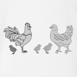 chicken158 - Baby Bio-Kurzarm-Body