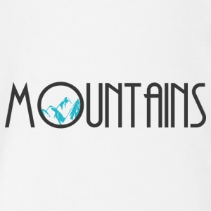 mountains - Baby Bio-Kurzarm-Body