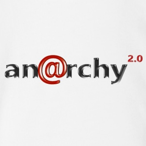 Anarchy 2.0 - Organic Short-sleeved Baby Bodysuit