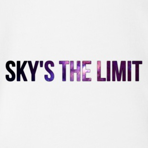 Sky is the limit - Organic Short-sleeved Baby Bodysuit