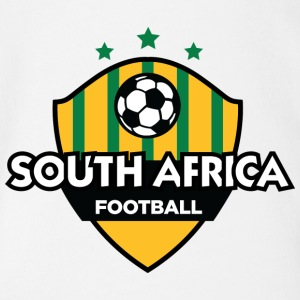 Football Emblem Of South Africa - Organic Short-sleeved Baby Bodysuit