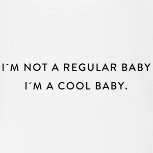 I'MA COOLBABY - Organic Short-sleeved Baby Bodysuit