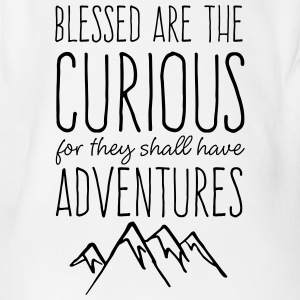 Blessed are the Curious - Organic Short-sleeved Baby Bodysuit