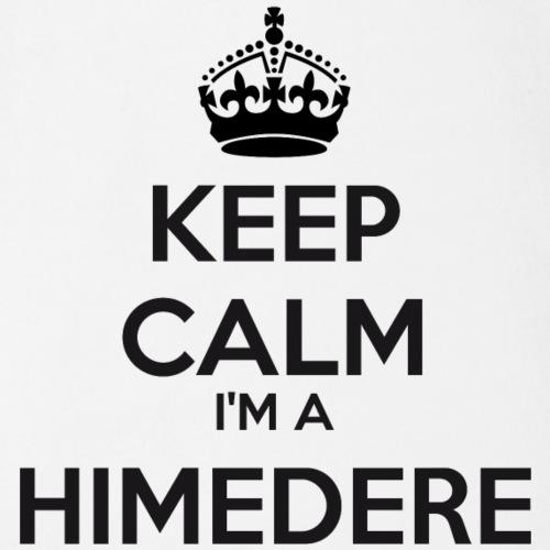 Himedere keep calm - Organic Short-sleeved Baby Bodysuit