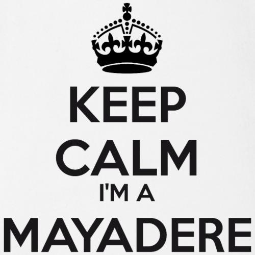 Mayadere keep calm - Organic Short-sleeved Baby Bodysuit