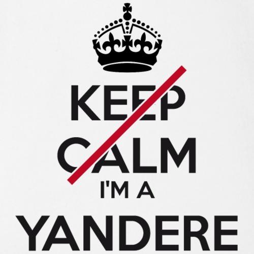 Yandere don't keep calm - Organic Short-sleeved Baby Bodysuit