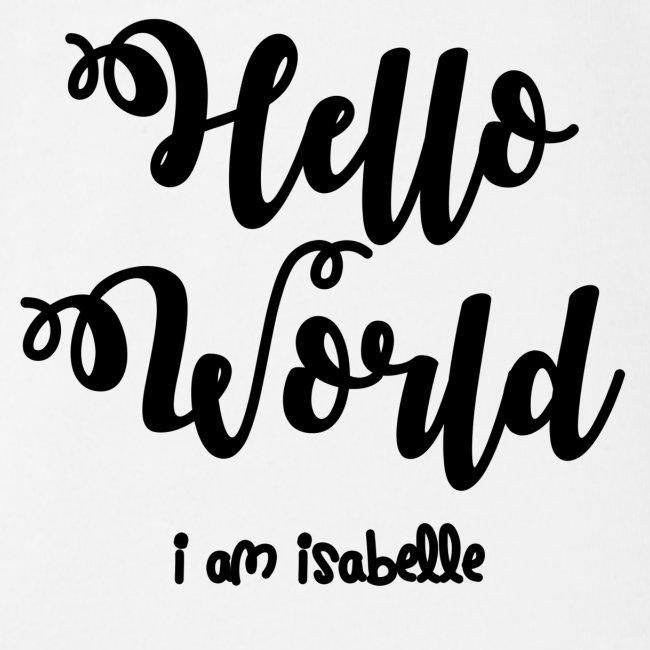 hello world new black design