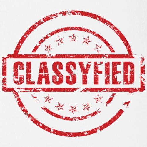 Classyfied Logo transpare - Baby Bio-Kurzarm-Body